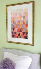 Paint Chips by Remodelaholic Ombre Paint Chip Art Tutorial