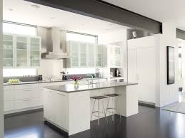 Range In Kitchen Island by Rho Architects Clerestory Windows Kitchen Island Exposed Steel