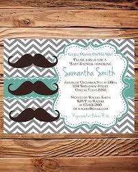 mustache baby shower invitations baby shower invitation boy mustache boy shower brown