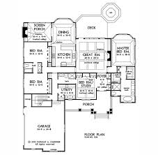 Donald Gardner Floor Plans House Plan The Wilkerson By Donald A Gardner Architects