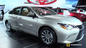 2015 Camry Interior 2015 Toyota Camry Xle Exterior And Interior Walkaround 2015