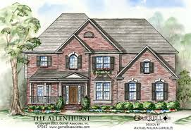traditional home plans allenhurst house plan house plans by garrell associates inc