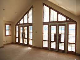 Blinds For Triangle Windows Gable End Window Design At Home Design Ideas