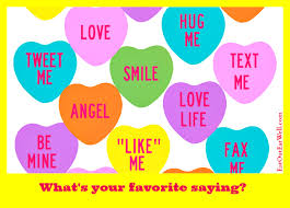 valentines heart candy sayings how did candy conversation hearts get to be a symbol of