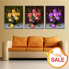 Home Decor Paintings For Sale Compare Prices On Simple Flower Vase Painting Online Shopping Buy