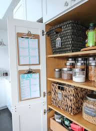 How To Organize Your Kitchen Pantry - how to completely organize your pantry the happy housie