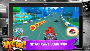 crash nitro kart apk bandicoot kart racing 2 apk version for