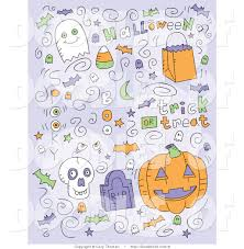 vector clipart of halloween doodles by cory thoman 9