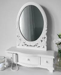 dressing table with mirror and drawers white dressing table mirror with drawers amazon co uk kitchen home
