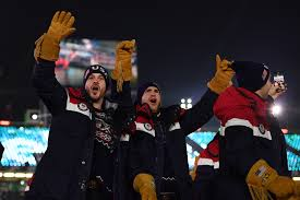 Gold Fringed Flag Meaning Team Usa U0027s Opening Ceremony Gloves By Ralph Lauren Look An Awful