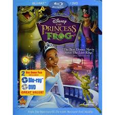 princess frog blu ray dvd widescreen walmart
