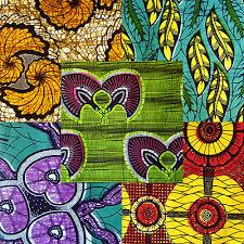 Colourful Upholstery Fabric Kiafrika African Print