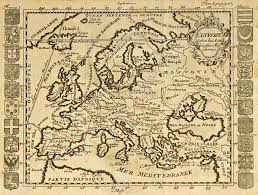 Old Map Europe Old Map U2014 Stock Photo Marzolino 12223567