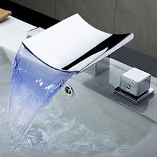sink faucet design color changing bathroom sinks and faucets led