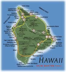 Map Of Hawaii Big Island Hawaiian Old Map Wallpaper