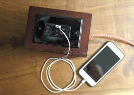 make a cigar box into a portable charging station d i y bullseye