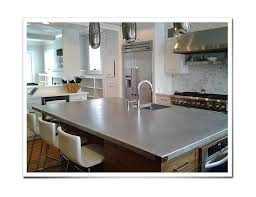 Copper Kitchen Countertops Custom Metal Countertops Zinc Countertops Copper Countertops