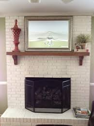 brick fireplace paint images u2014 jessica color steps to use brick