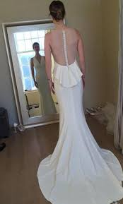 amsale wedding dresses for sale amsale demi 2 000 size 6 used wedding dresses