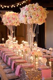 gold wedding theme best 25 pink and gold wedding ideas on gold big pink and