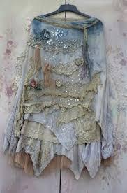 Shabby Chic Skirts by Barocco Skirt Romantic Maxi Skirt M Size Shabby Chic Cotton