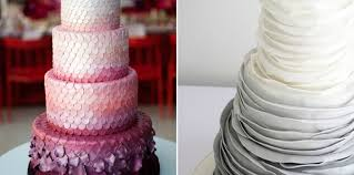 5 wedding cake trends for 2015 weddingelation