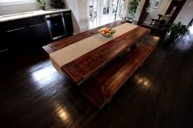 rustic solid wood dining table lovely rustic dining room decoration rectangular cherry ideas r