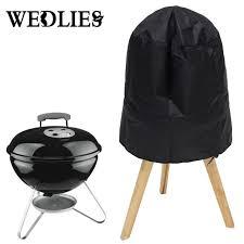 weber outdoork che barbecue grill cover 14 15 38 40 cm adatto per weber smokey joe