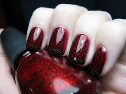 9 best red nail art designs with pictures styles at life