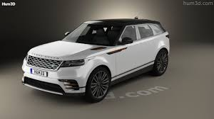 new land rover velar 360 view of land rover range rover velar 2018 3d model hum3d store