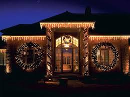 exterior christmas lights ideas home design