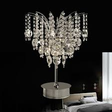Crystal Desk Lamp by Lighting Table Lamps Modern Gorgeous Luxurious Crystal Table