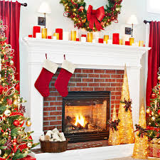 Christmas Decoration For Mantelpiece by 26 Gorgeous Fireplace Mantel Decoration Ideas For Christmas
