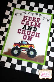 monster truck jam party supplies 225 best monster truck party images on pinterest monster trucks