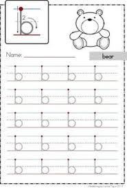 letter b worksheets preschool and kindergarten
