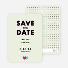 Save The Date Cards 3d Save The Date Cards Paper Culture