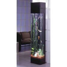 tall aquarium decorations tv aquarium decor pinterest