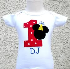 1st birthday onesie boys personalized mickey mouse number shirt or onesie mickey