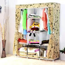 wardrobes portable wardrobe closet storage organizer clothing