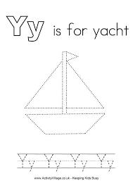 tracing alphabet y alphabet pinterest yachts alphabet and