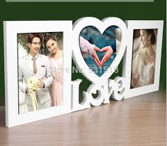 wedding gift photo frame design 3 boxes combination photo frame european style