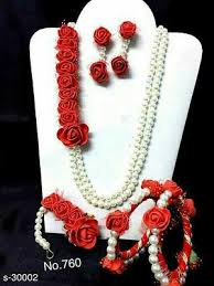 flower jewellery flower jewellery buy collections page 2 glowroad