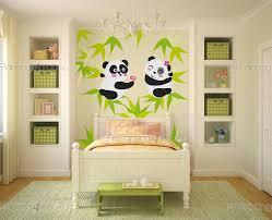 stickers panda chambre bébé stickers muraux chambre bébé ours panda kit artpainting4you eu