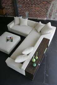 modern sectional sofas los angeles shea sectional with console and ottoman modern sectional sofas