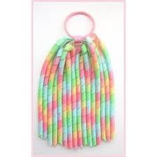 cheer bows uk 16pcs 3 5 korker ponytail hair ties holders streamer corker hair