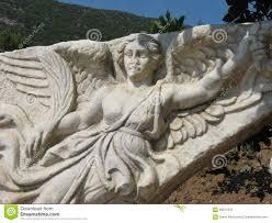 nike the goddess of victory ephesus stock photo image 68311812