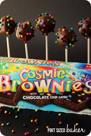 cosmic brownie pops pint sized baker