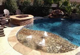 photo gallery inground pools u0026 spas waterfalls outdoor living