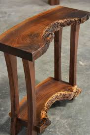 live edge table with turquoise inlay read live edge walnut console table corey morgan thesoundlapse com