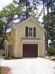 one car garage 21 u0027x17 u0027 with potting shed and upstairs apartment